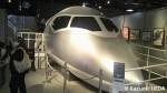 最新の中距離国産旅客機のフライトシミュレータ体験装置
