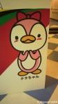 オリンピック記念公園内にある駒沢体育館でチッキーとクラちゃんを見つけました(^○^)!!